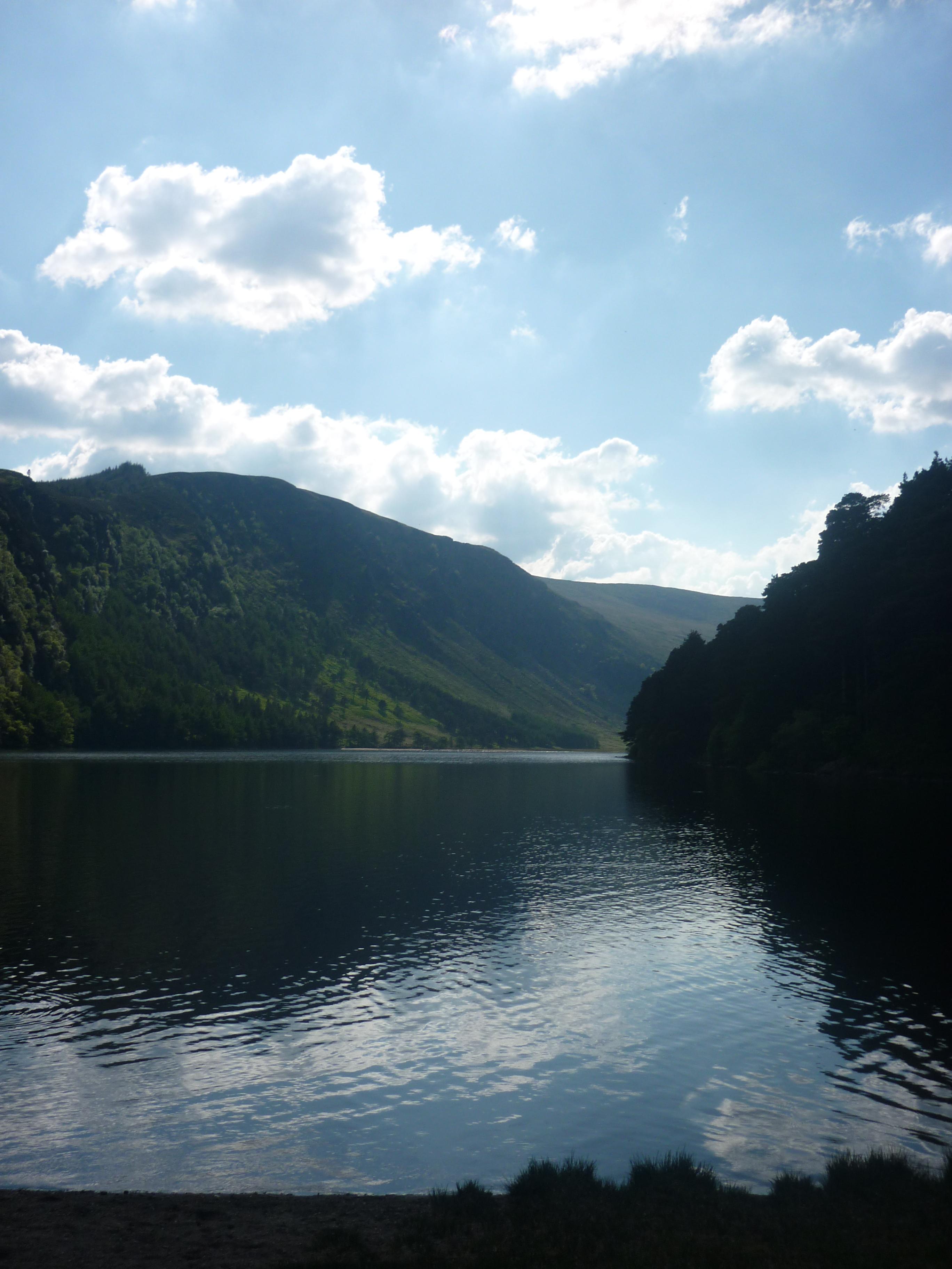 Glendalough lake .